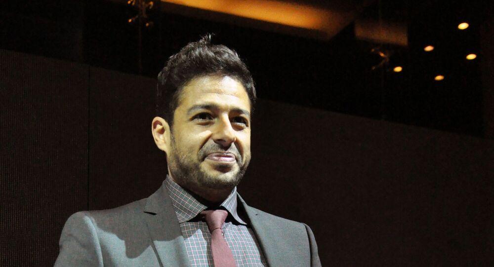 المطرب المصري محمد حماقي