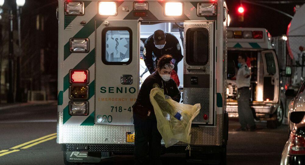 تفشي فيروس كورونا في مدينة نيويورك الأمريكية