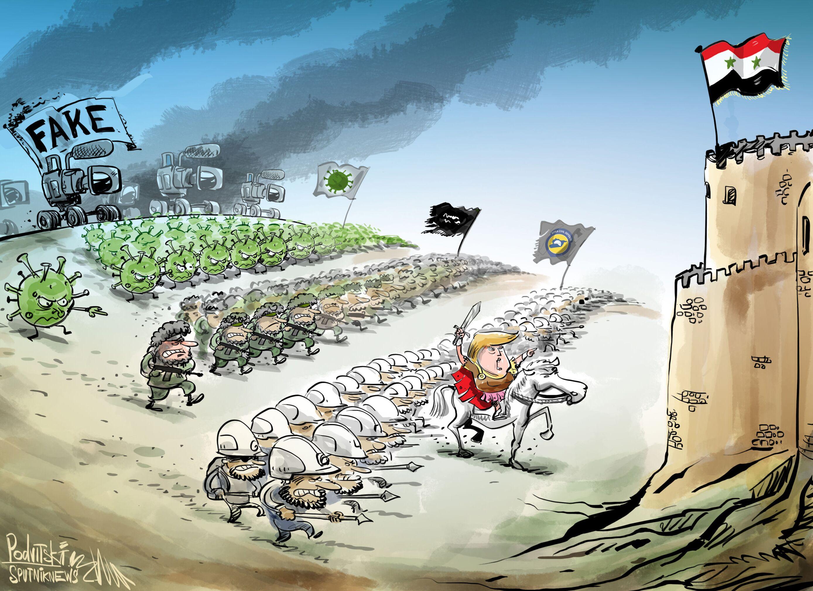 الولايات المتحدة تستغل كورونا ضد سوريا
