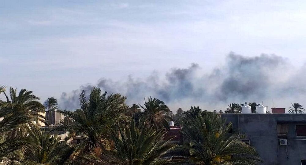 طرابلس، ليبيا 13 أبريل 2020