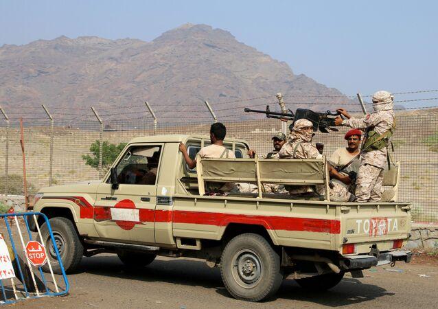 قوات  المجلس الانتقالي الجنوبي في عدن، اليمن 2019