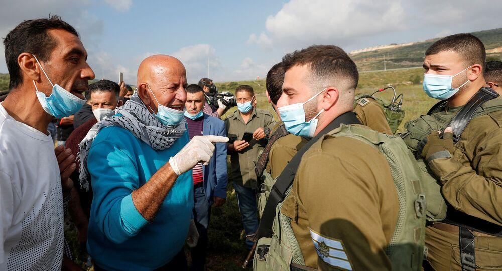 الجيش الإسرائيلي، المستوطنات، الضفة الغربية، 2 مايو 2020