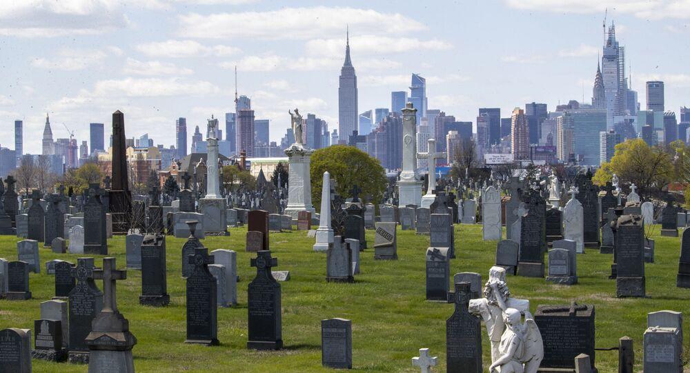 مقبرة كالفاري في حي ماسبث في كوينز بورو في ولاية نيويورك بـ الولايات المتحدة الأمريكية