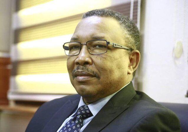 وزير الدولة بوزارة الخارجية السودانية عمر قمر الدين