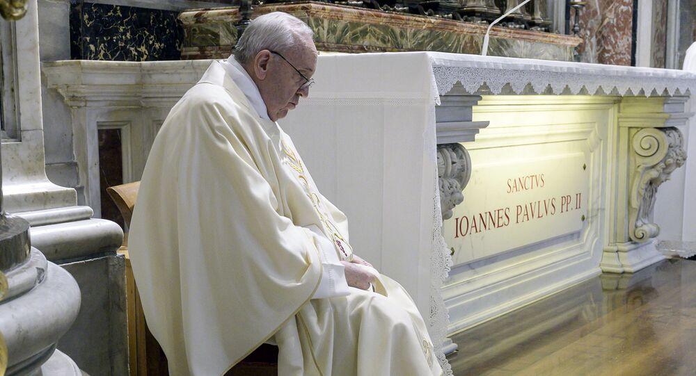 الفاتيكان يعيد فتح كاتدرائية القديس بطرس، إيطاليا 18 مايو2020