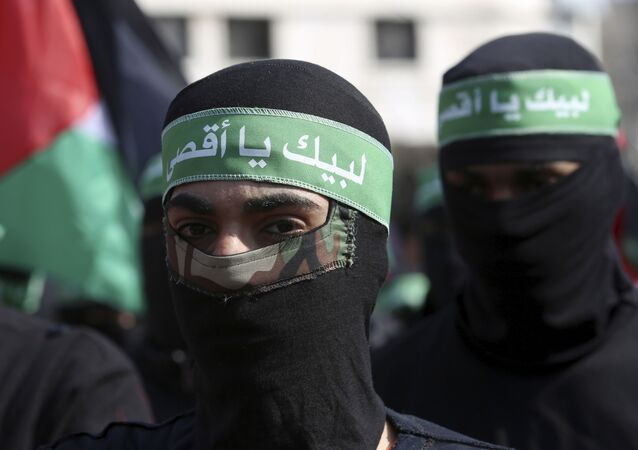 حركة المقاومة الإسلامية حماس في قطاع غزة، فبراير 2020
