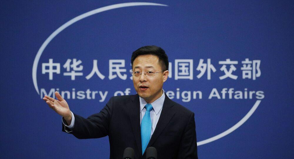 المتحدث باسم وزارة الخارجية الصينية تشاو لي جيان