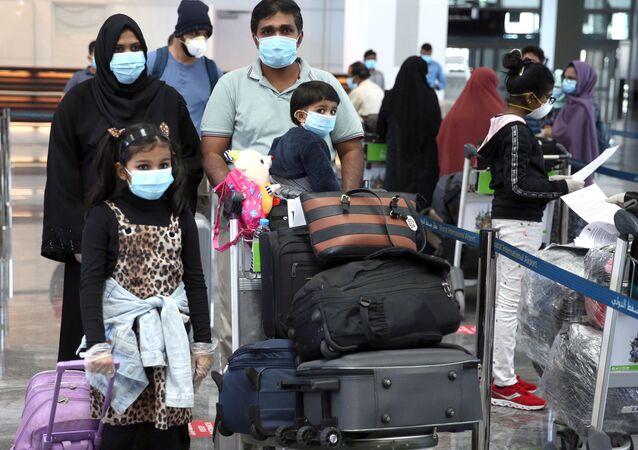 مطار مسقط الدولي، سلطنة عمان مايو/ أيار 2020
