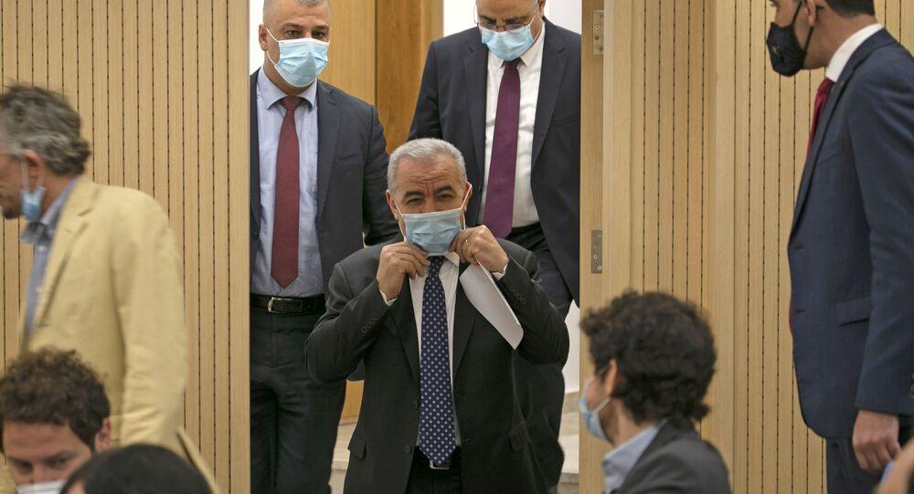 رئيس الوزراء الفلسطيني محمد اشتية، رام الله، فلسطين 9 يونيو 2020