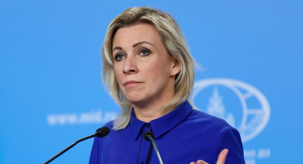 المتحدثة باسم الخارجية الروسية، ماريا زاخاروفا