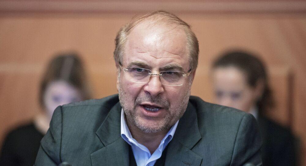 محمد باقر قاليباف رئيس مجلس الشورى الإسلامي في إيران