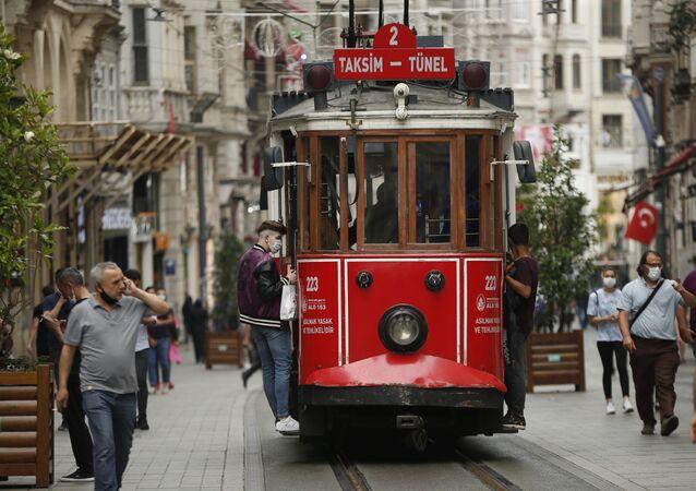 مدينة اسطنبول، تركيا 18 يونيو 2020