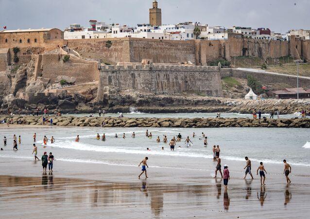 مدينة سلا، شمال الرباط، المغرب، يونيو 2020