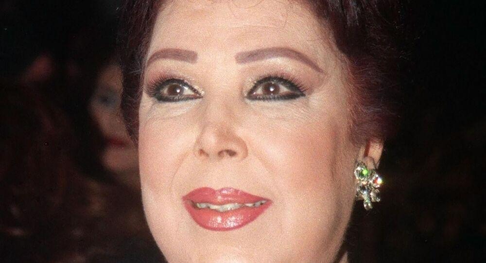 الفنانة المصرية الكبيرة رجاء الجداوي